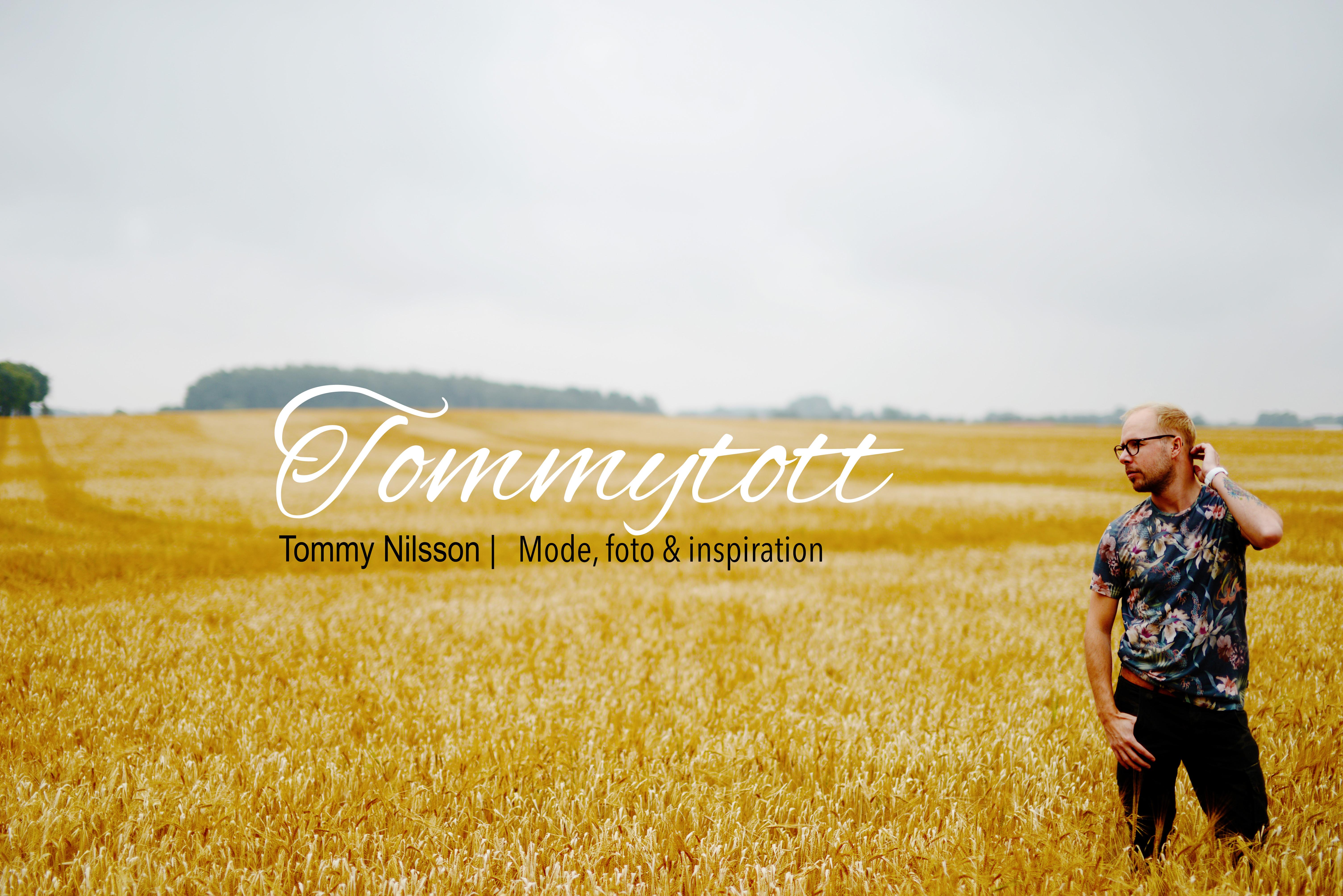 Tommytott – En livstilsblogg om livet som öppethomosexuell , mode och fotografering